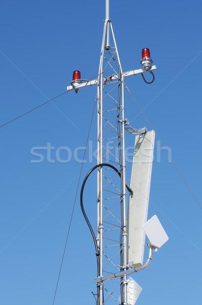 Antenna primo piano business cielo telefono Foto d'archivio © pedrosala