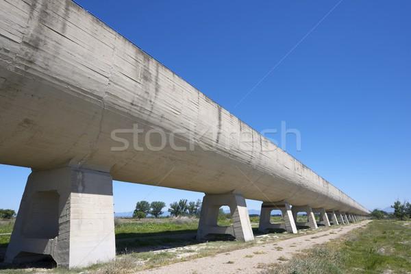 irrigation canal Stock photo © pedrosala