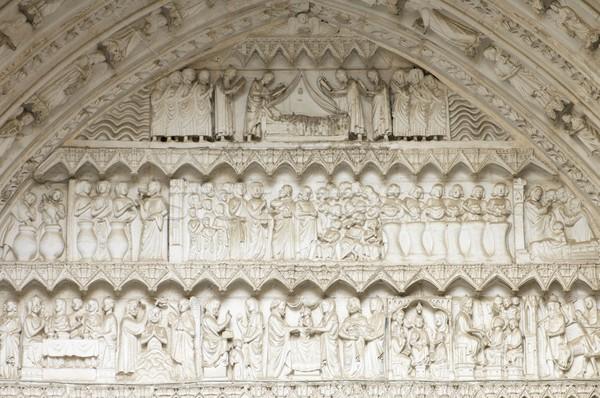 Gothic Cathedral of Toledo Stock photo © pedrosala