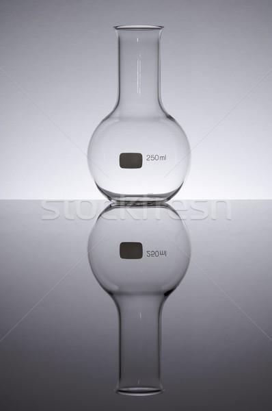 Laboratórium üveg gömb alakú kettő száz ötven Stock fotó © pedrosala