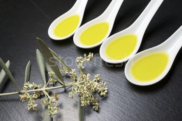 оливкового масла небольшой Китай продовольствие стороны Сток-фото © pedrosala