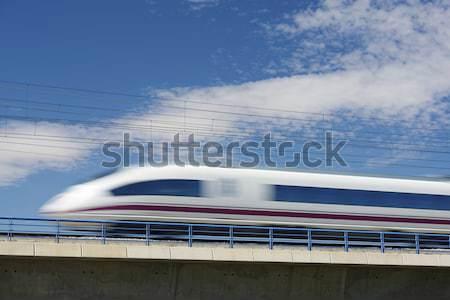 AVE train Stock photo © pedrosala