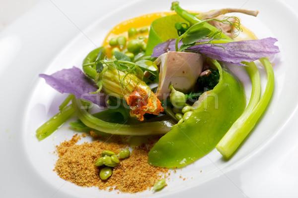 Plantaardige stoven voorjaar voedsel keuken Stockfoto © pedrosala