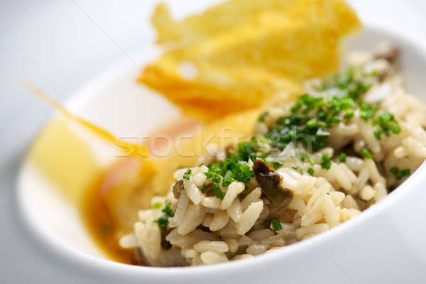 Risotto prato legumes laranja verde Foto stock © pedrosala