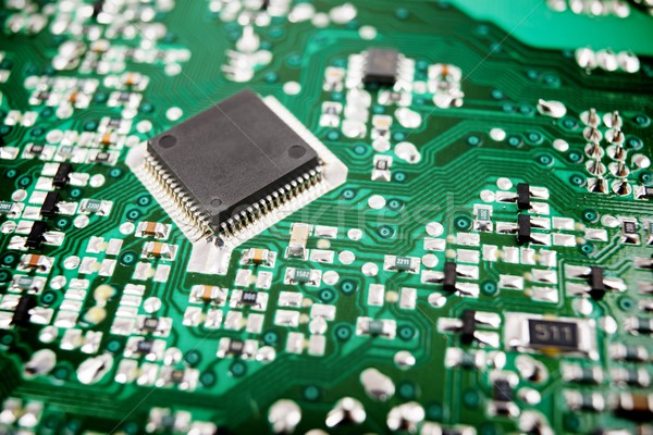интегрированный схеме чипа науки промышленных Сток-фото © pedrosala