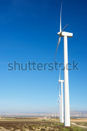 электрических производства водохранилище пейзаж технологий Сток-фото © pedrosala