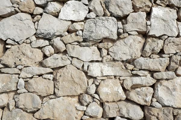 石の壁 農村 建物 壁 レトロな 暗い ストックフォト © pedrosala
