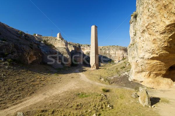 Zafrane Canyon in Spain Stock photo © pedrosala