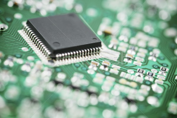 интегрированный схеме чипа фон науки Сток-фото © pedrosala