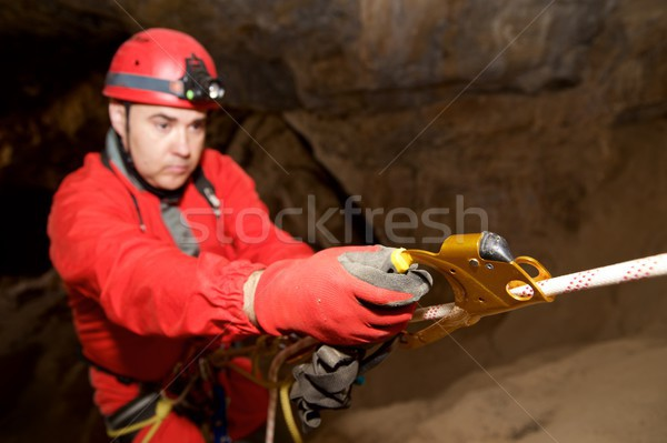 Caving in Spain. Stock photo © pedrosala