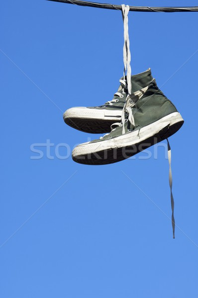 sneakers hanging Stock photo © pedrosala