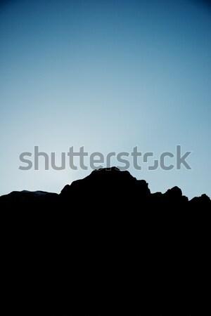 Sunset in Pyrenees Stock photo © pedrosala