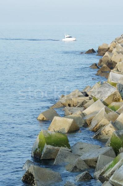 breakwater Stock photo © pedrosala