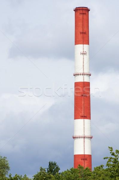 Lonely chimney Stock photo © pedrosala