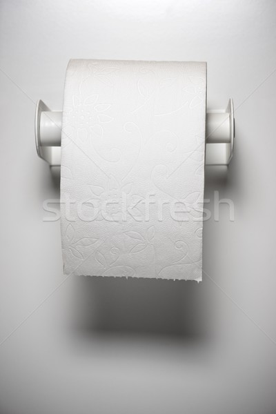 Soft carta igienica muro carta bagno bianco Foto d'archivio © pedrosala