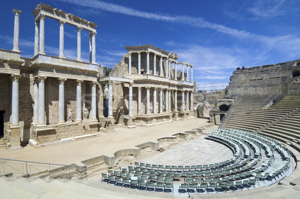 Roman theater Stock photo © pedrosala
