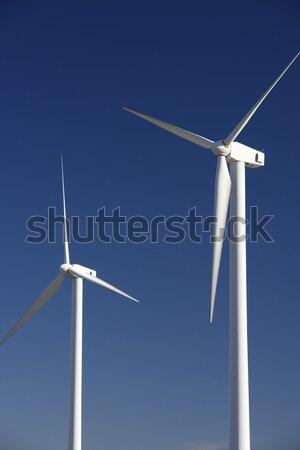 two windmills Stock photo © pedrosala