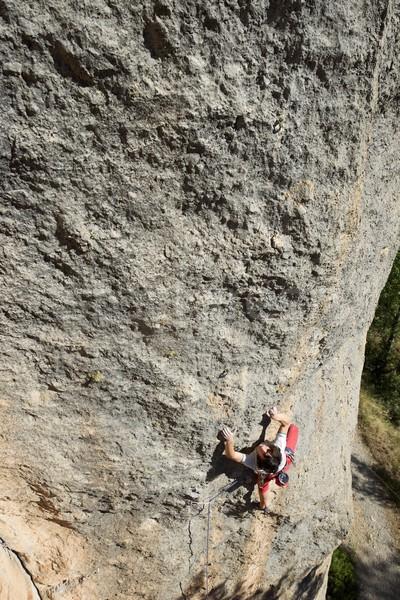 скалолазания Испания спорт горные осуществлять каменные Сток-фото © pedrosala
