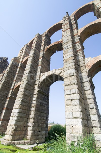 aqueduct Stock photo © pedrosala