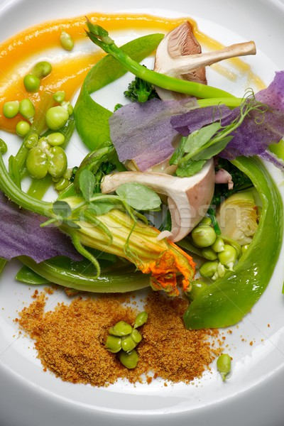 Vegetali spezzatino primo piano primavera alimentare cucina Foto d'archivio © pedrosala