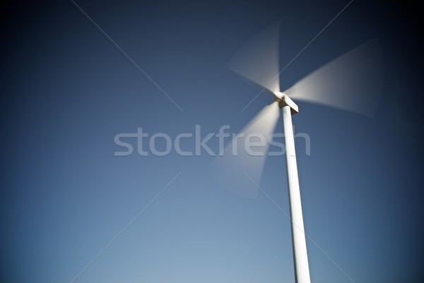 Wind energy concept Stock photo © pedrosala