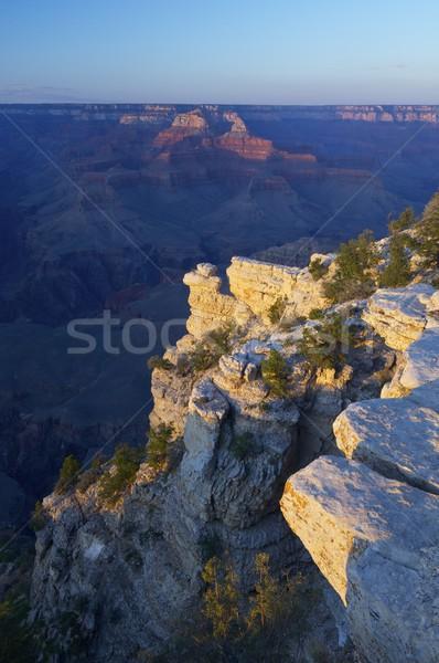 Grand Canyon parco tramonto view Arizona USA Foto d'archivio © pedrosala