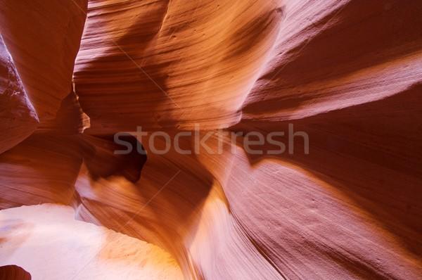 Arenaria astrazione muri canyon USA muro Foto d'archivio © pedrosala