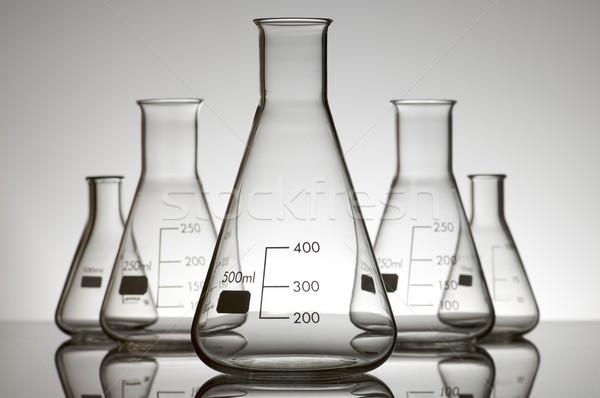 Cinco vazio branco backlight medicina indústria Foto stock © pedrosala