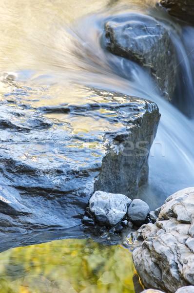 Colorido enseada montanha vale beleza rocha Foto stock © pedrosala