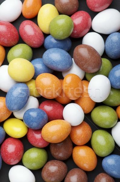Сток-фото: конфеты · группа · шоколадом · различный · цветами