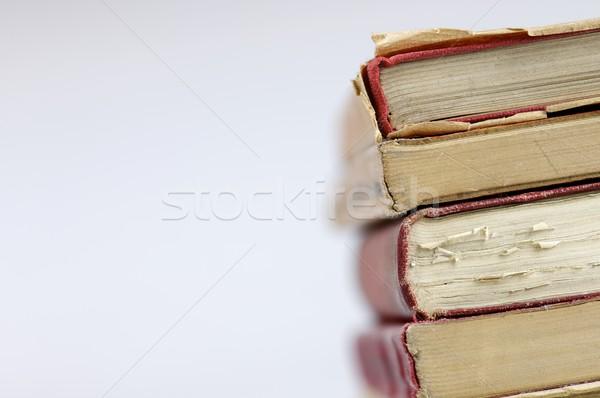 Eski kitaplar grup kitap eğitim Stok fotoğraf © pedrosala