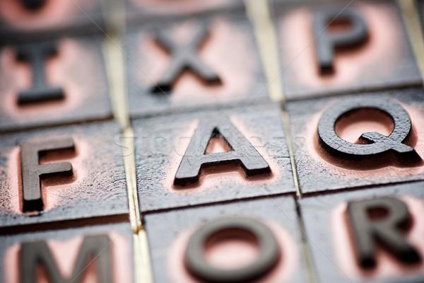 Gyik kilátás gumi bélyegek szó háttér Stock fotó © pedrosala
