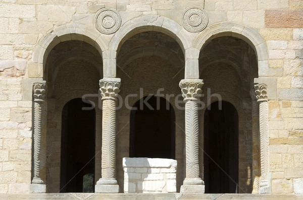 Romanesque  church Stock photo © pedrosala