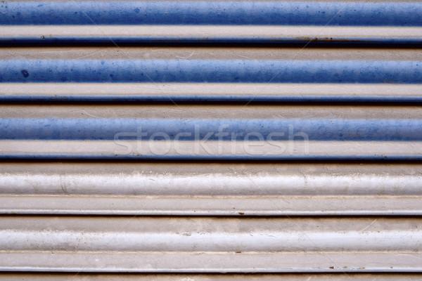 металл затвор высокий разрешение синий ретро Сток-фото © pedrosala