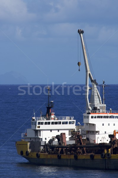 freight boat Stock photo © pedrosala