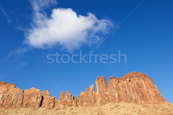 индийской ручей Юта США небе природы Сток-фото © pedrosala