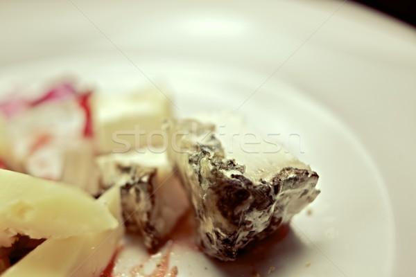 Sajt fehér asztal csoport tej klasszikus Stock fotó © pedrosala
