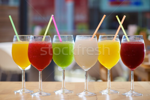 Slush drink view Stock photo © pedrosala
