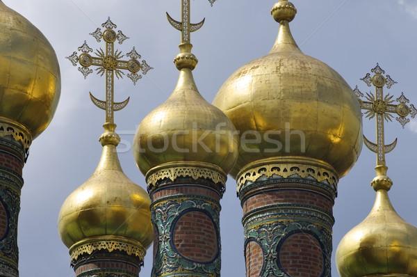 Foto stock: Kremlin · iglesia · túnica · Moscú · Rusia · diseno
