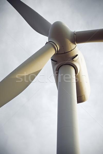 ветер энергии Windmill электрических власти производства Сток-фото © pedrosala