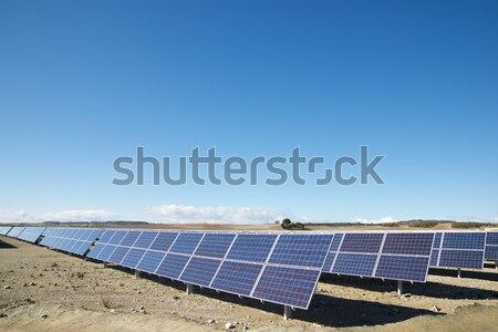 solar plant Stock photo © pedrosala