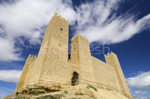 Sadaba castle Stock photo © pedrosala