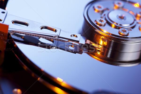 Sabit disk açmak bilgisayar sabit disk dizüstü bilgisayar Stok fotoğraf © pedrosala