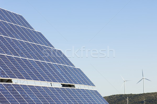 Чистая энергия природы технологий энергии будущем Сток-фото © pedrosala