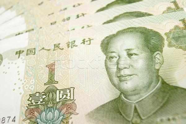 Yuan banknotes Stock photo © pedrosala