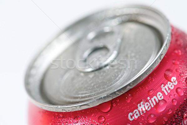 Kofeina wolna puszka sody wody Zdjęcia stock © pedrosala