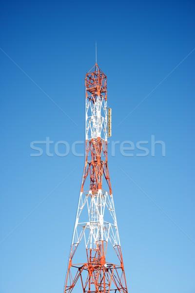 電気通信 塔 表示 青空 ビジネス 空 ストックフォト © pedrosala