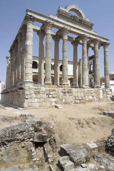 Roman temple of Diana Stock photo © pedrosala