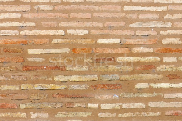古い レンガの壁 建設 建物 壁 抽象的な ストックフォト © pedrosala