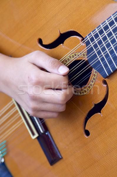 Spanish guitar Stock photo © pedrosala